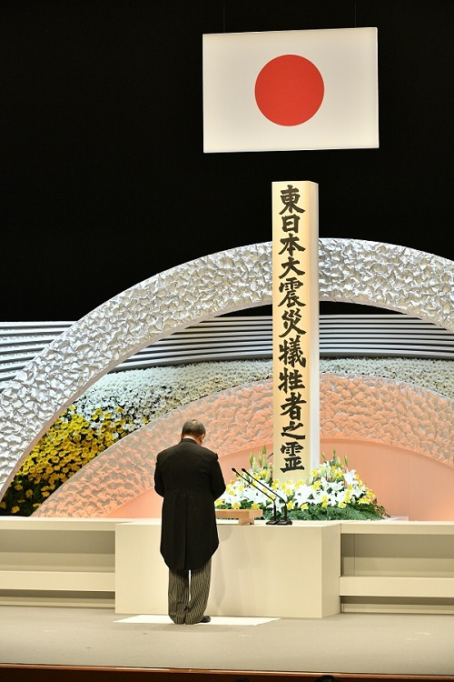 Speaker attends the 8th anniversary ceremony of the Great East Japan Earthquake: Click on the title or picture to display topic details.