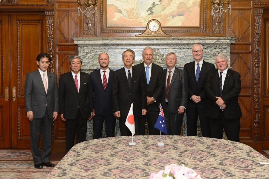 オーストラリア連邦議会議員団一行の衆議院訪問